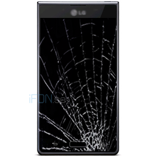 Optimus L7 Byta glas