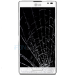 Optimus L9 Byta glas